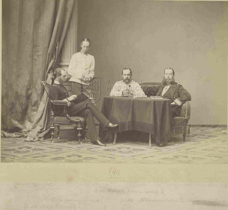 Rakouský císař a jeho bratři