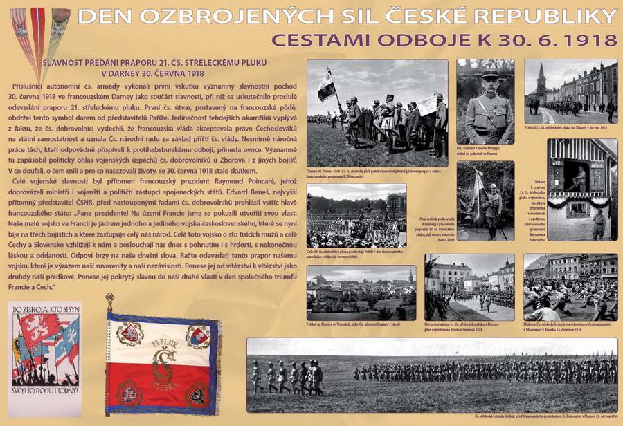 Den ozbrojených sil ČR – odkaz 30. června 1918