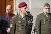 Tehdejší náčelník GŠ AČR generál Petr Pavel