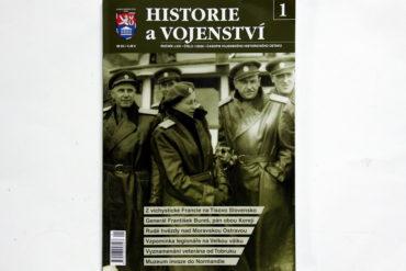 Nové číslo časopisu Historie a vojenství je již vprodeji