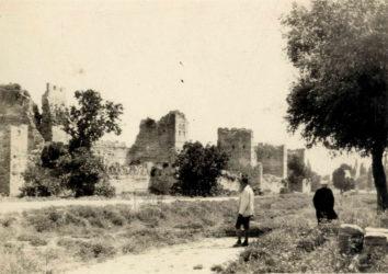 Pád Konstantinopole 1453, snímky z meziválečné doby