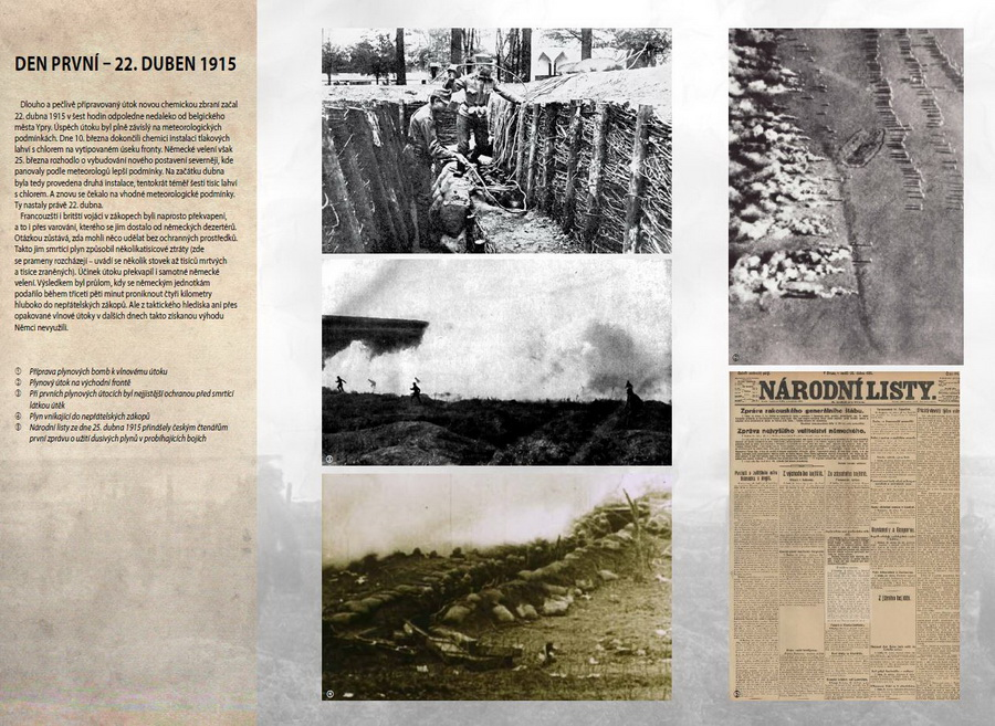 100 let moderní chemické války