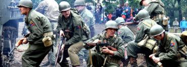 Lešanské historické bojové ukázky: když válčí muži z U.S. Army