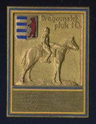 Plaketa dragounského pluku 10