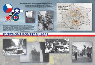 """Výročí """"75"""": Prohlédněte si novou výstavu Květnové povstání 1945, kterou připravil Vojenský historický ústav Praha"""