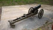 75mm horský kanon L13  z roku 1912