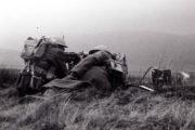 Příslušníci československé smíšené brigády ve Velké Británii během výcviku s těžkým kulometem Vickers. Foto sbírka VHÚ.