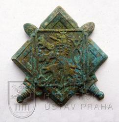 Československý čepicový odznak Jana Kubiše, 30. léta 20. století