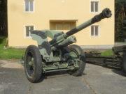 105mm houfnice vzor 1941 pro Finsko