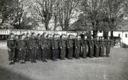 Skupinový snímek příslušníků 5. praporu Vládního vojska v Kutné Hoře. Foto sbírka VHÚ.