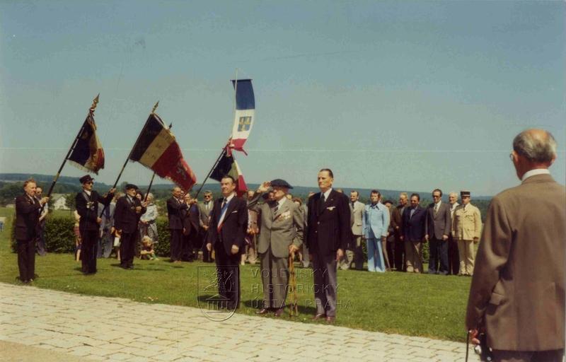 Oslava v Darney 14. července 1975