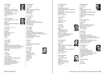"""Vojenský historický ústav Praha vydal druhé vydání jmenného soupisu obětí Pražského povstání """"Padli na barikádách"""""""