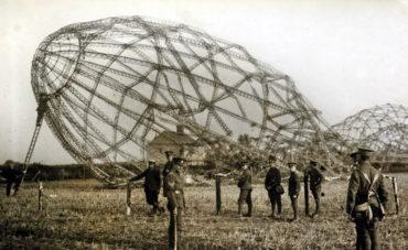 První německé nálety na Londýn za první světové války