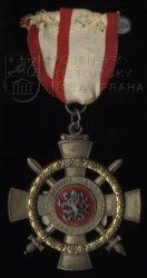 Pamětní kříž odbojové organizace Černý lev