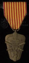 Pamětní medaile bojovníků barikád ze Strašnic – Stará škola