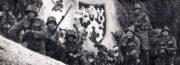 Detail: příslušníci Pěšího pluku zajištění lehkého opevnění 152, kteří obsazovali opevnění v roce 1938 nedaleko Podbořan. Foto sbírka VHÚ.