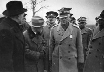 Edvard Beneš a Władysław Sikorski v britském exilu