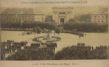 Plukovní slavnost c. a k. pěšího pluku č. 36