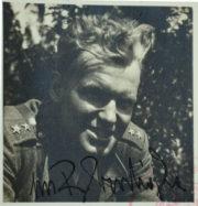 Radovan Procházka v hodnosti poručíka před svým uvězněním roku 1951