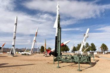 Raketová střelnice americké armády White Sands