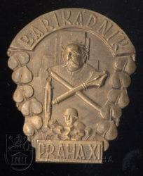 Pamětní odznak ochránců barikád z Prahy XI – Žižkova