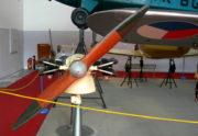 Snímek s namontovanou vrtulí v letecké expozici před restaurováním. FOTO: Jan Sýkora