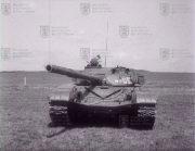 Tank T-72 zepředu