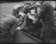 Instalace odminovače KMT-6 osádkou tanku