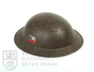 Britská ocelová přilba Mk. II, 1942