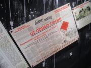 """Expozice věnovaná holocaustu na Slovensku: """"Najprísnejšie rasové zákony na Židov sú slovenské,"""" liboval si slovenský tisk v září 1941. FOTO: J. Plachý"""