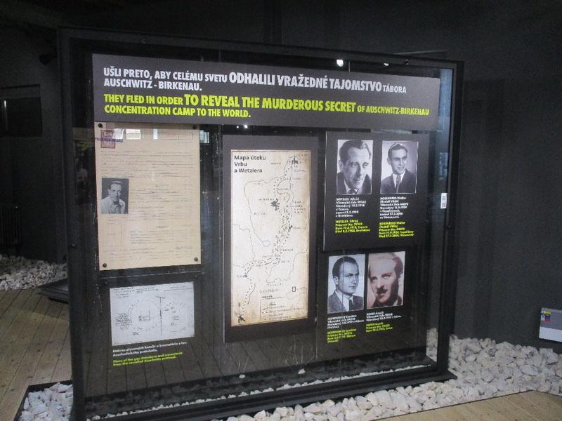 Muzeum holocaustu v Seredi, v místě původního internačního tábora