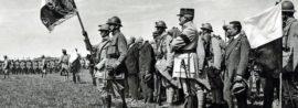 První nasazení. Na alsaské frontě s 21. československým střeleckým plukem.