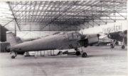 Zlín Z-181 ještě v původním stavu, uložený v hangáru Letecké skupiny Vojenského muzea