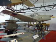 Tentýž Zlín Z-181 již jako vojenský C-106 v expozici Leteckého muzea VHÚ