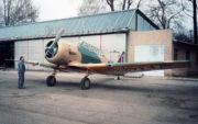 Pro pokračovací výcvik letců RAF sloužil víceúčelový Noorduyn Harvard Mk.II B