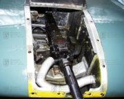 Ostrou cvičnou střelbu Harvardu umožňoval kulomet Browning Mk.II montovaný v křídle