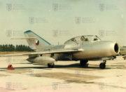 Cvičný dvoumístný Mikojan Gurjevič MiG-15 UTI byl licenčně vyráběn také v Aeru Vodochody