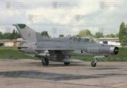 Mikojan Gurjevič MiG-21 UMN e. č. 9332 byl jedním z posledních létajících strojů tohoto typu u nás