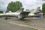 Tentýž UIl-28 po padesáti letech ve vnější expozici Leteckého muzea VHÚ