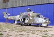 Bitevní vrtulník Mil Mi-24 měl variantu s dvojím řízením, označovanou jako Mi-24 DU