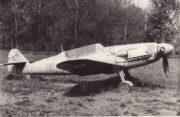 Původní nálezový stav Avie CS-199 na zahradě školy v Čelechovicích u Prostějova