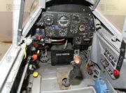 Pohled na místo žáka v kabině Avie CS-199
