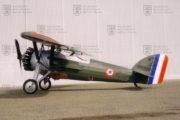 Francouzský Morane-Saulnier MS-230 Et.2 byl využíván nejen pro výcvik, ale také pro akrobacii