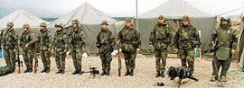 Zapojení Armády České republiky na zahraniční operaci Essential Harvest v Makedonii