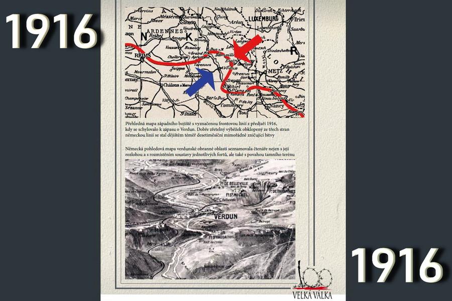 V pasti války. Válečný rok 1916.