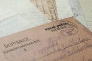 Korespondence z první světové války ze sbírek VHÚ Praha – ilustrační snímek