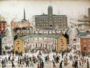 VE Day, olej na plátně, 1945. FOTO: © Glasgow Museums