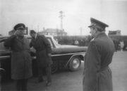 Příjezd maršála Ustinova do ČSSR