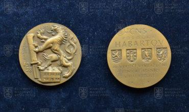 Pamětní medaile k 40. výročí přepadení četnické stanice v Habartově