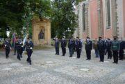 Zahájení úvodního ceremoniálu XV. Konference policejních historiků v Muzeu Policie České republiky 17. září 2020 (Foto Muzeum Policie České republiky)
